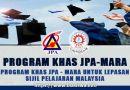 Biasiswa MARA - Permohonan Program Khas JPA-MARA