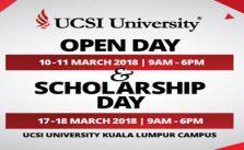 UCSI Scholarship