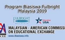 program biasiswa fulbright malaysia 2019