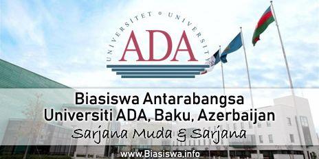 biasiswa antarabangsa universiti ada baku azerbaijan