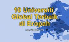 10 universiti global terbaik di eropah