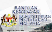 bantuan kewangan kementerian pendidikan malaysia kpm