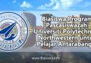 biasiswa program pascasiswazah universiti polytechnical northwestern pelajar antarabangsa