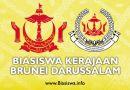 anugerah biasiswa kerajaan brunei darussalam