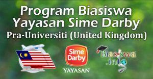 program biasiswa yayasan sime darby pra-universiti united kingdom